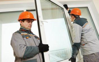 Как установить алюминиевое окно