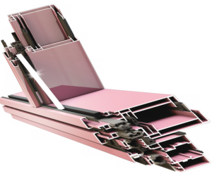 Элементный светопрозрачный фасад RF 68 EF