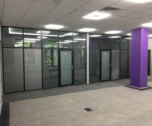 Офисные перегородки, как способ перепланировки офиса