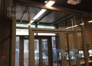 Светопрозрачный тамбур от DisaGlass