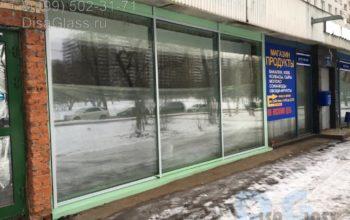 Алюминиевый витраж в Москве